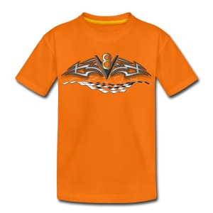 V8 Logo T-shirt für Kid´s - Teenager Premium T-Shirt