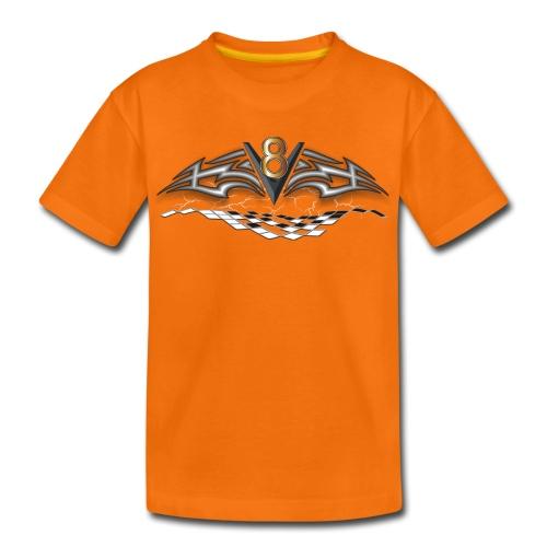 V8 Logo T-shirt für Kid´s - Teenager Premium T-Shirt