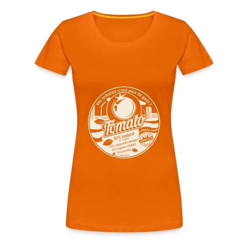 T-SHIRT femme american apparel - T-shirt Premium Femme