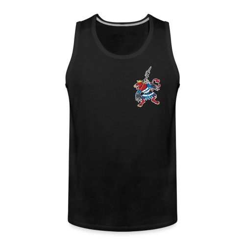 Team Luxembourg muscle shirt - Men's Premium Tank Top