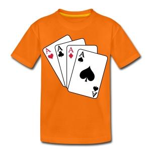 kaartwereld - Teenager Premium T-shirt