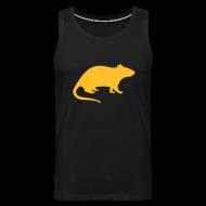 Sportbekleidung ~ Männer Premium Tank Top ~ Rattenshirt