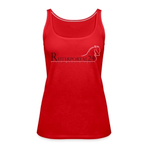 Reiterportal24 Frauen Tank Top rot - Frauen Premium Tank Top