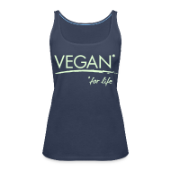 Tops ~ Frauen Premium Tank Top ~ Womens - VEGAN* for life