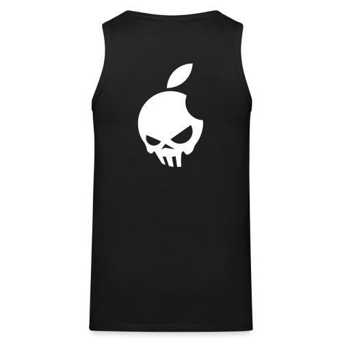 Männer Muskelshirt (Apple-Skull) - Männer Premium Tank Top