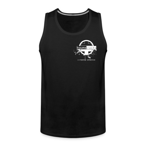 Traumatracks men tanktop shirt - Men's Premium Tank Top