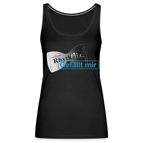 TRMX Girly Fanshirt schwarz - Frauen Premium Tank Top