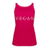 Tops ~ Frauen Premium Tank Top ~ Womens - VEGAN
