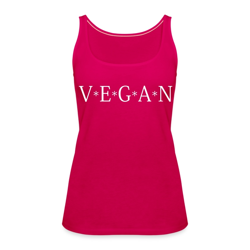 Womens - VEGAN - Frauen Premium Tank Top