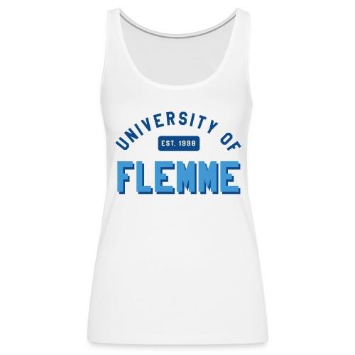 Débardeur University of Flemme femme - Débardeur Premium Femme