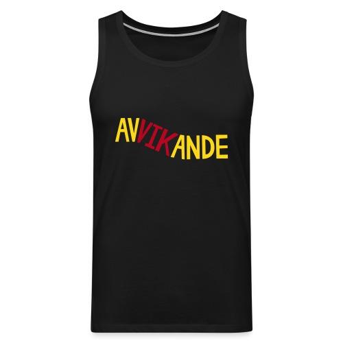 AVVIKANDE Sportkläder - Premiumtanktopp herr