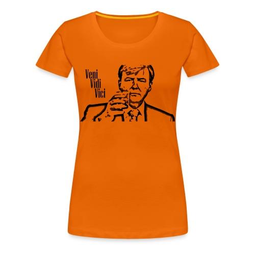 Willem Alexander veni vidi vici - Vrouwen Premium T-shirt
