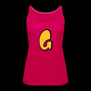 Alphabet G - Women's Premium Tank Top
