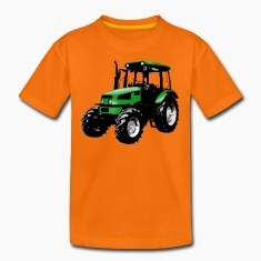 tractor green Shirts