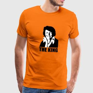 The King Willem Alexander/Elvis Koningsdag T-shirts - Mannen Premium T-shirt