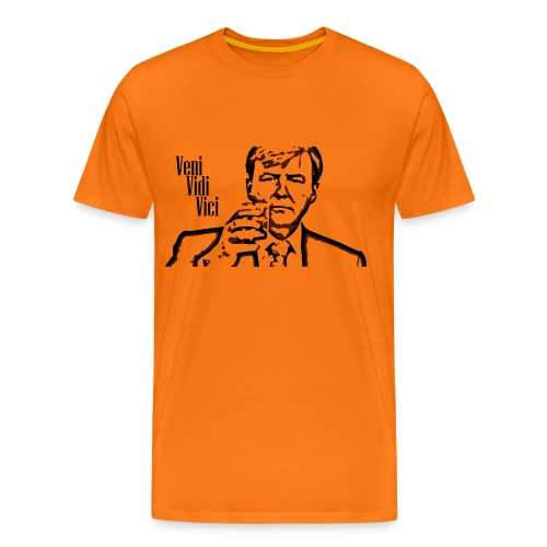 Willem Alexander veni vidi vici - Mannen Premium T-shirt