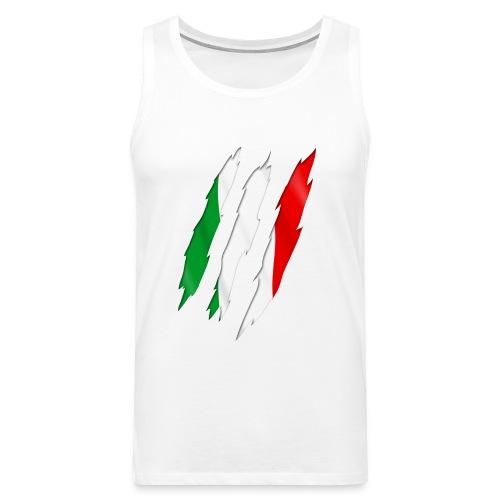 maglietta italia - Canotta premium da uomo