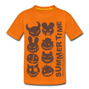 Camiseta premium niño - MONSTERS,SUMMER TIME
