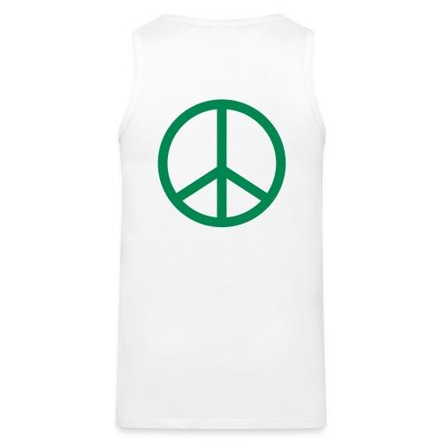 Peace tanktop - Männer Premium Tank Top