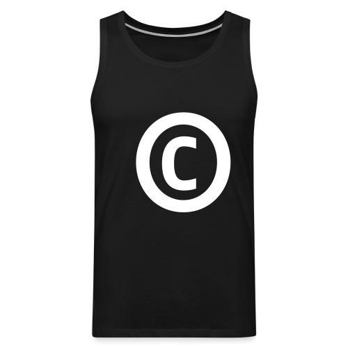 Tank-Copyright - Männer Premium Tank Top