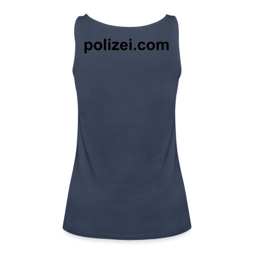 Girlie Shirt polizei.com - Frauen Premium Tank Top