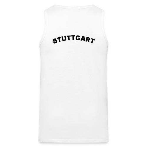 Stuttgart (black) - Tank - Männer Premium Tank Top