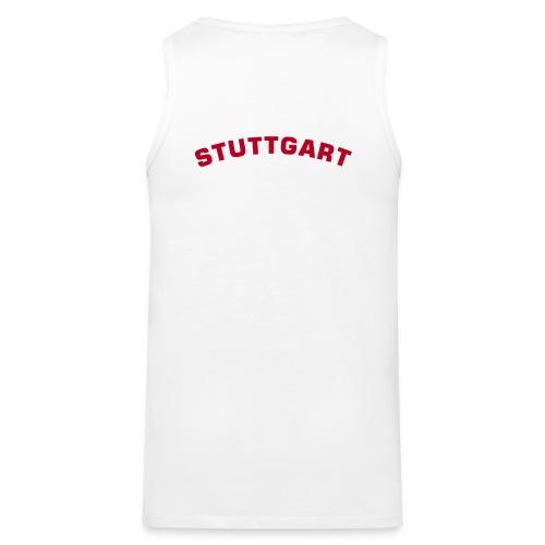 Stuttgart (red) -Tank - Männer Premium Tank Top