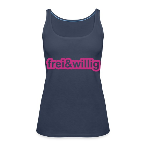 Top Frei&Willig (hellblau) - Frauen Premium Tank Top