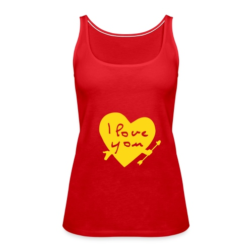 Love-Shirt - Frauen Premium Tank Top