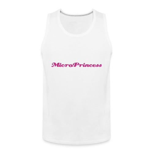 for all the cute microprincesses - Männer Premium Tank Top