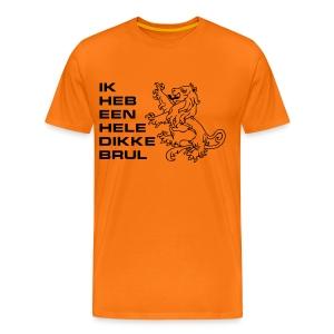 brul shirt - Mannen Premium T-shirt