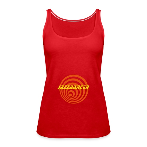 Jazzdancer Spirale Spaghetti Top rot - Frauen Premium Tank Top