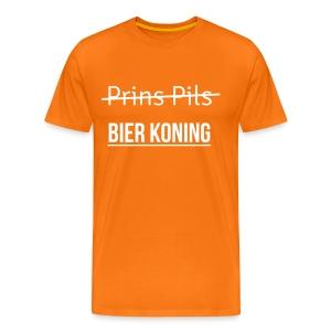 Koning bier - Mannen Premium T-shirt