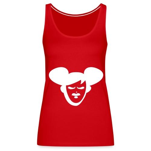 La-Dance Fun-Shirt (red) - Frauen Premium Tank Top