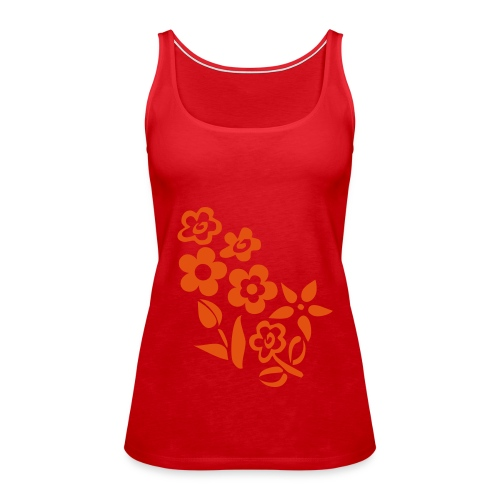 Top Rot Flower - Frauen Premium Tank Top
