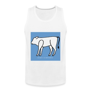 [basic] site 'white tank' - Männer Premium Tank Top