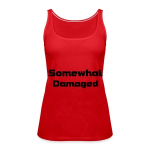 Somewhat Damaged Strappy Top - Women's Premium Tank Top