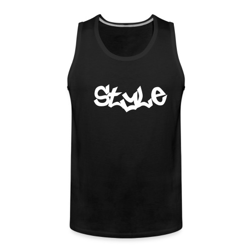 Style Sommer Top - Männer Premium Tank Top