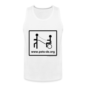 Tanktop Pony/Dog gross - Männer Premium Tank Top