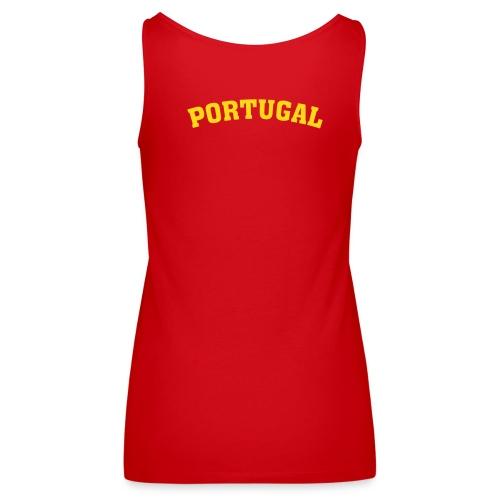 portugal - Débardeur Premium Femme