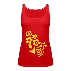Flower - Frauen Premium Tank Top
