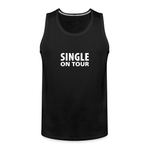 SINGLE ON TOUR - Männer Premium Tank Top