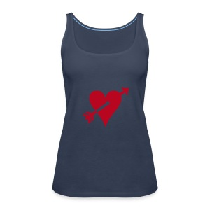 Spaghetti-Top Lovely Girl (hellblau) - Frauen Premium Tank Top