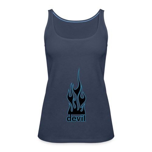 Spaghetti-Top Devil - Frauen Premium Tank Top