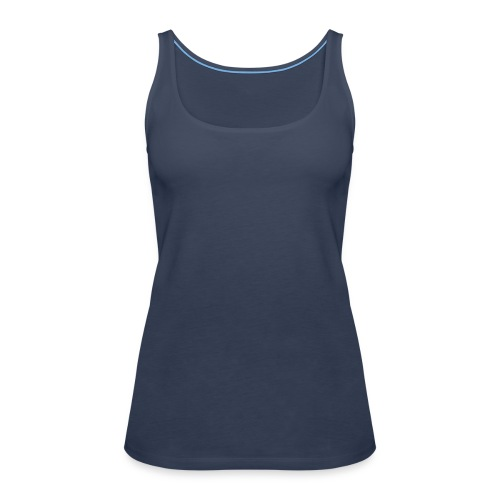 Girly-Shirt Hellblau - Frauen Premium Tank Top