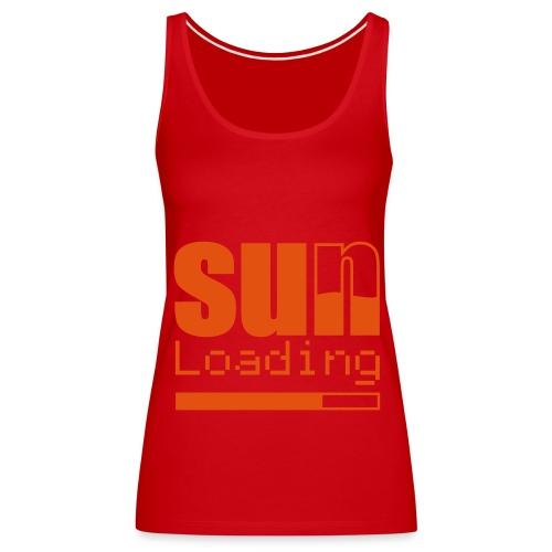 sun loading - Frauen Premium Tank Top