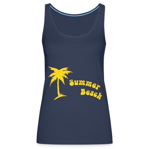 summer beach - Débardeur Premium Femme