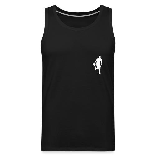 bball sleeveless - Männer Premium Tank Top