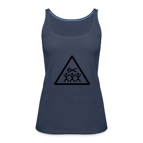 crowd/girl - Frauen Premium Tank Top