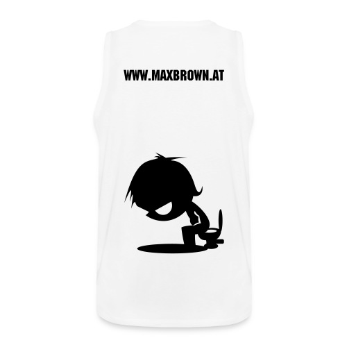 Max Brown Tank Top - Men's Premium Tank Top